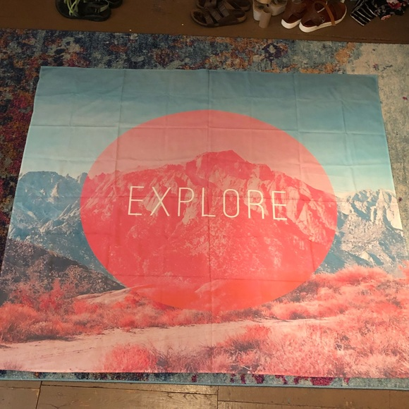 Society6 Other - 'Explore' tapestry